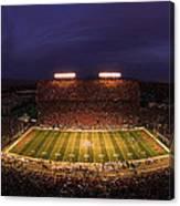 Arizona Stadium Under The Lights Canvas Print
