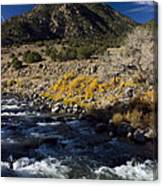 Arkansas River Autumn Canvas Print