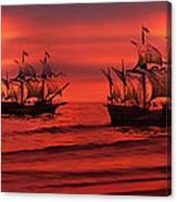 Armada Canvas Print
