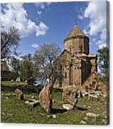 Armenian Church On Adkamar Island Canvas Print