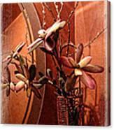 Arrangement In Mirror Canvas Print