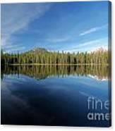 Arrow At Summit Lake Canvas Print