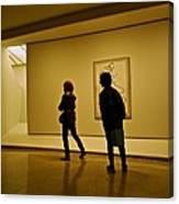 Art Appreciators Canvas Print