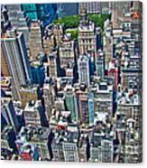 Art Deco New York City Canvas Print