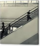Art Escalator Canvas Print