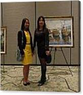 Art Exhibit Paintings Canvas Print