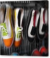 Art Shoes Canvas Print
