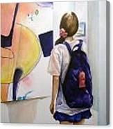 Art Student Canvas Print