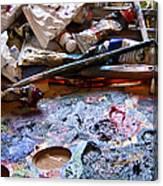 Art Studio Canvas Print