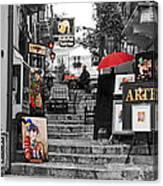 Artful Bistro Canvas Print