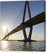 Arthur Ravenel Jr Bridge Charleston South Carolina Canvas Print