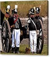 Artillery Canvas Print
