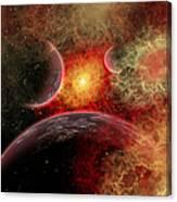 Artist Concept Illustrating The Stellar Canvas Print