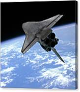 Artists Concept Of A Space Shuttle Canvas Print