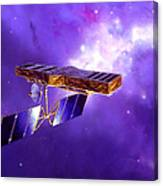 Artists Concept Of Space Interferometry Canvas Print