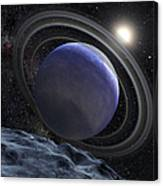 Artists Illustration Of An Extrasolar Canvas Print