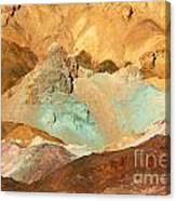 Artists Palette Death Valley Canvas Print