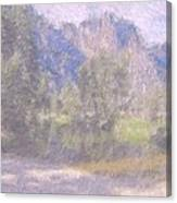 As If Monet Painted Yosemite Canvas Print