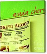 Asada Choke - Izo Canvas Print