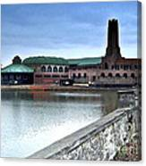 Asbury Park-new Jersey-in The Rain Canvas Print