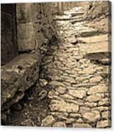 Ascent In Beynac France Canvas Print