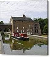 Ashby Canal At Moira Furnace Canvas Print