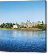 Ashford Castle Hotel, Near Cong, Co Canvas Print