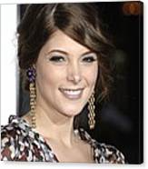 Ashley Greene At Arrivals For Premiere Canvas Print
