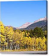 Aspen Highway7 Canvas Print