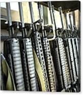 Assault Rifles Stand Ready Canvas Print