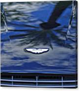 Aston Martin Hood 2 Canvas Print