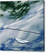Aston Martin Hood Emblem 3 Canvas Print