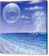 Astral Beach Canvas Print