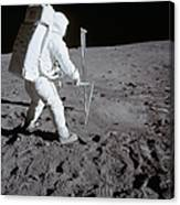 Astronaut During Apollo 11 Canvas Print