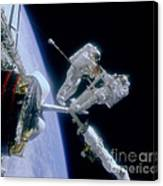 Astronauts Canvas Print