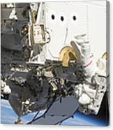 Astronauts Participate Canvas Print