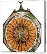 Astronomicum Caesareum With Dragon Canvas Print