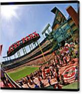 At And T The Stadium Canvas Print