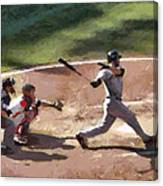 At Bat Canvas Print