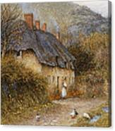 At Symondsbury Near Bridport Dorset Canvas Print