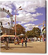 At The Prater - Vienna Canvas Print