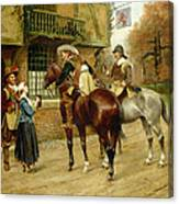 At The Red Inn Canvas Print