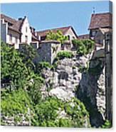 At The Rhine Falls Canvas Print