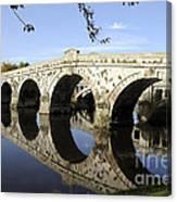 Atcham Bridge Canvas Print