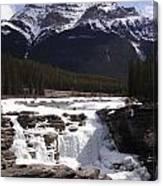 Athabasca Falls Canvas Print
