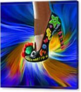 Athenna's Shoe Canvas Print