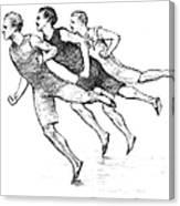 Athletics: Track, 1890 Canvas Print