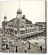 Atlantic City Steel Pier 1910 Canvas Print