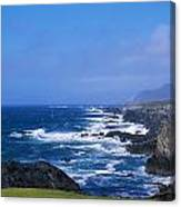 Atlantic Ocean, Achill Island, Looking Canvas Print