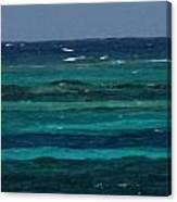 Atlantic Ocean Afternoon Canvas Print